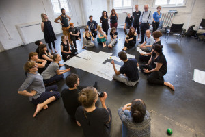 New Pathways Symposium 2016 Session: Devising and Catalyst Direction. Image: Katerina Kotti